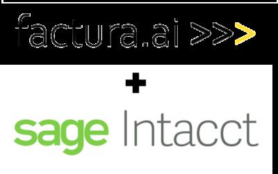 Sage Intacct Integration Announcement